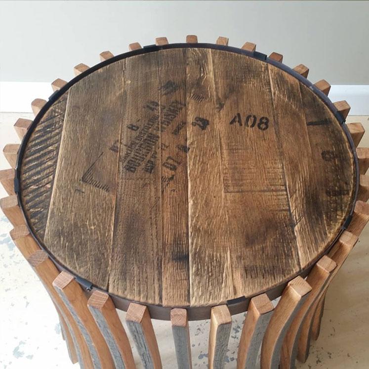 Bourbon Barrel Furniture Art, Bourbon Barrel Furniture